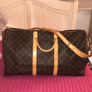 Authentic LV Duffle Bag Keepall 55